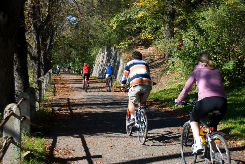 Bike tour along the Tuscan coast.